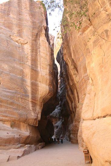 Al-Siq, Petra