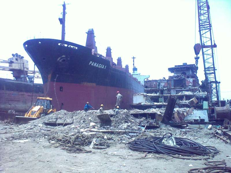 Alang Shipbreaking Yard