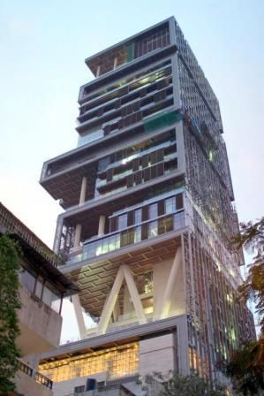 Ambani's House in Mumbai - Antilia