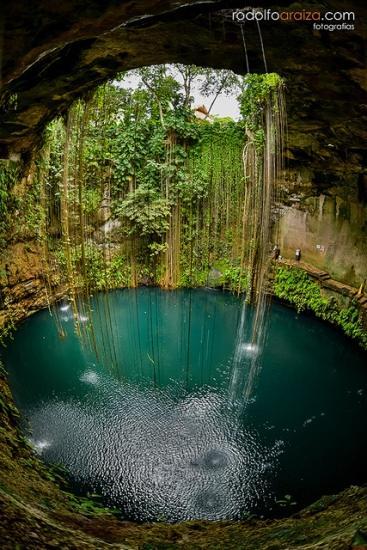 Cenote Sagrado/Sacred Cenote