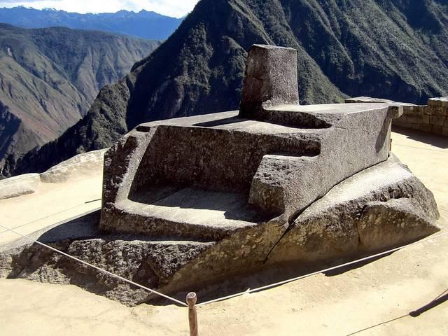 Intihuatana at Machu Picchu
