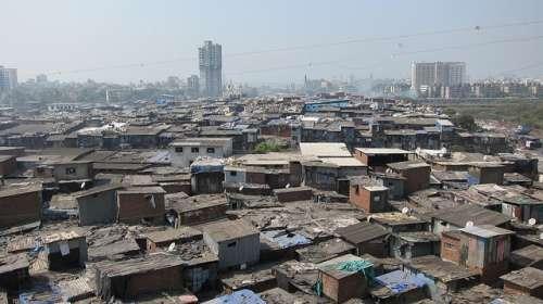 Slum of Dharavi, Mumbai