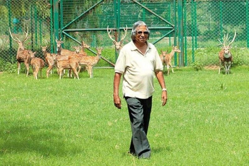 A P J Abdul Kalam Animal Lover