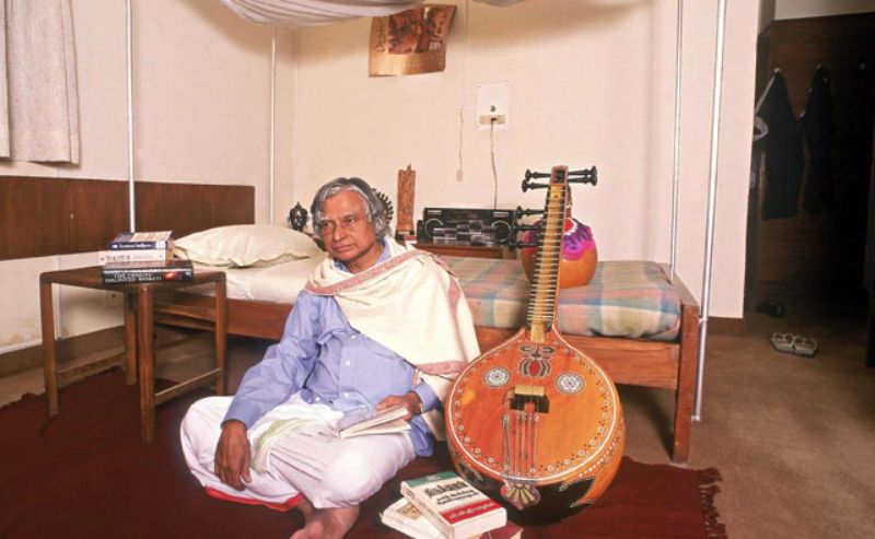 A P J Abdul Kalam Loved Playing Veena