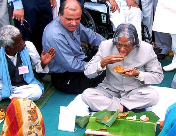 A. P. J. Abdul Kalam a vegetarian