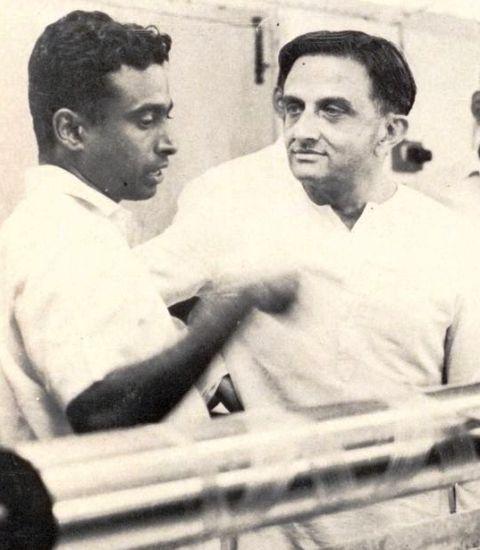 A. P. J. Abdul Kalam with Vikram Sarabhai