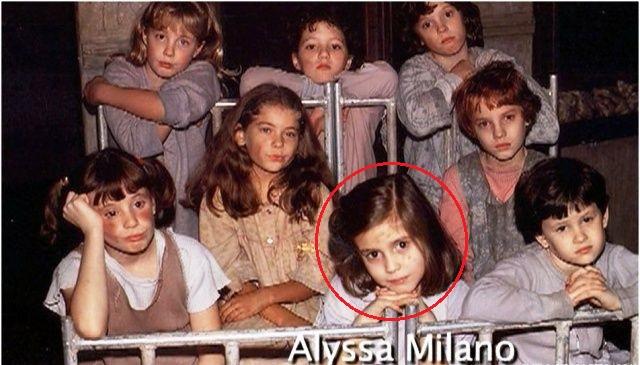Alyssa Milano in Annie