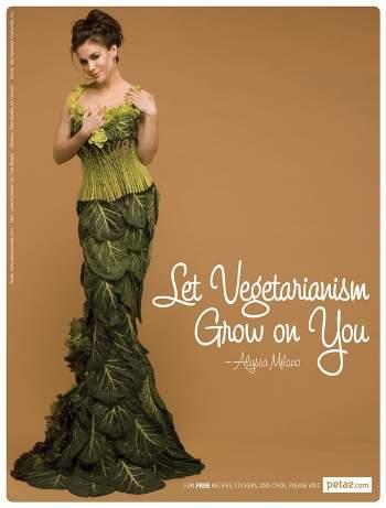 Alyssa Milano vegan