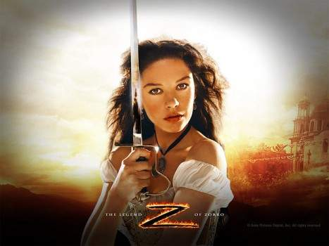 Catherine in zorro