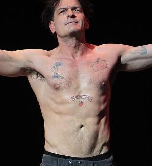Charlie Sheen Tattoos
