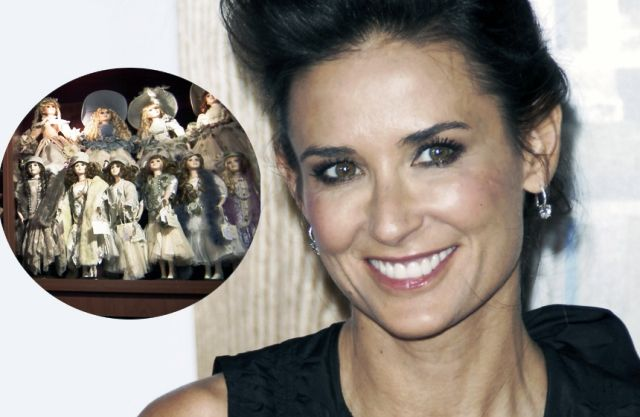 Demi Moore doll collector