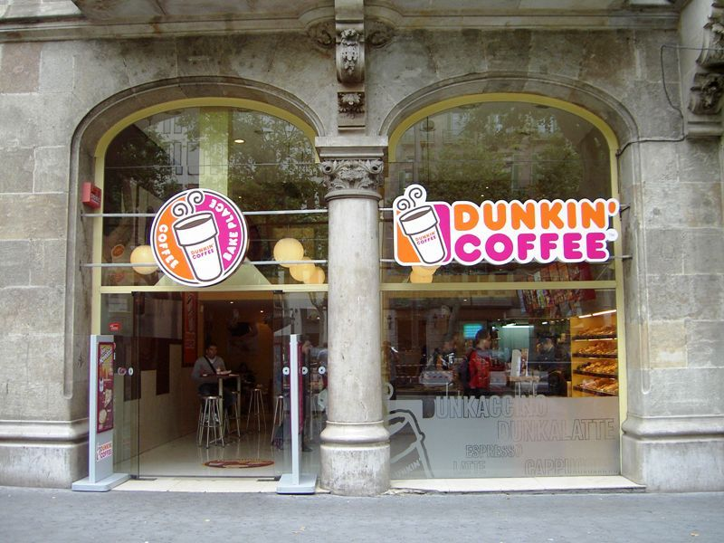 Dunkin' Donuts In Spain