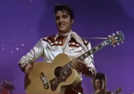 Elvis_Presley performing