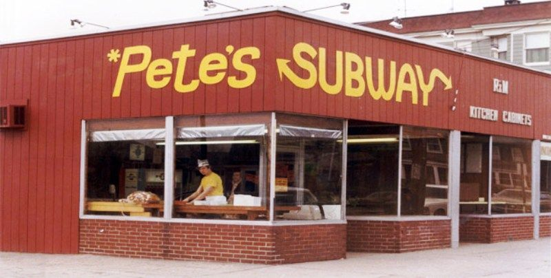 First Subway Restaurant