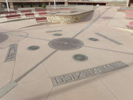 Four Corners, Reconstructed monument in 2010