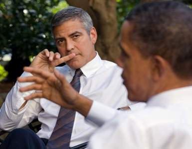 George Clooney White House