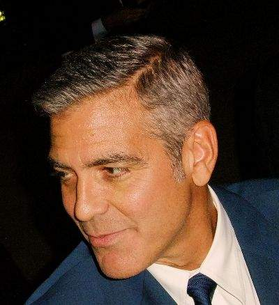 george and clooney