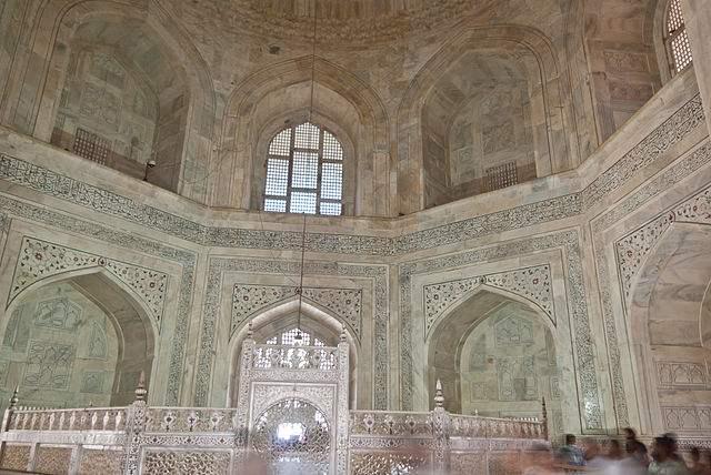 Interior of the Taj Mahal