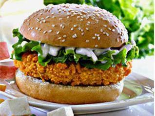 KFC veg burger