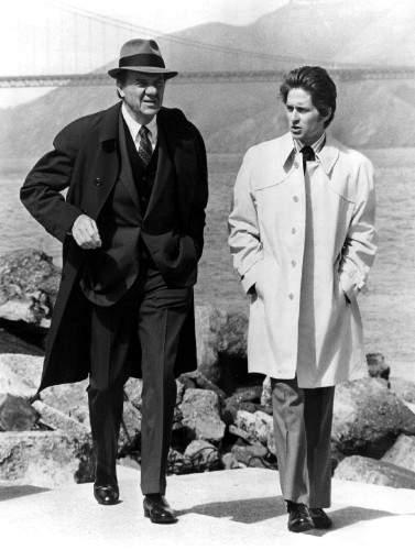 Karl Malden Michael Douglas
