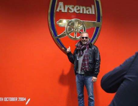 Kevin Costner arsenal fan