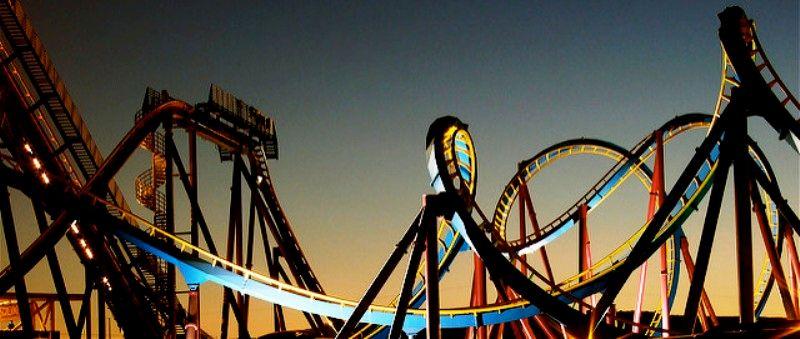 Las Vegas Roller Coaster Ride