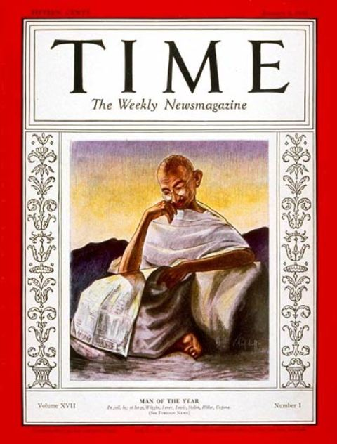 Mahatma Gandhi Time Man of the Year