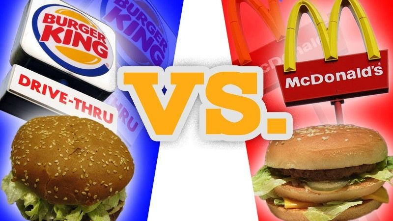 McD vs Burger King