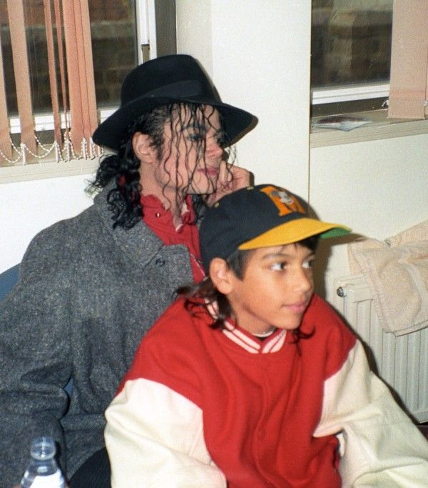 Michael Jackson With Jordy Chandler