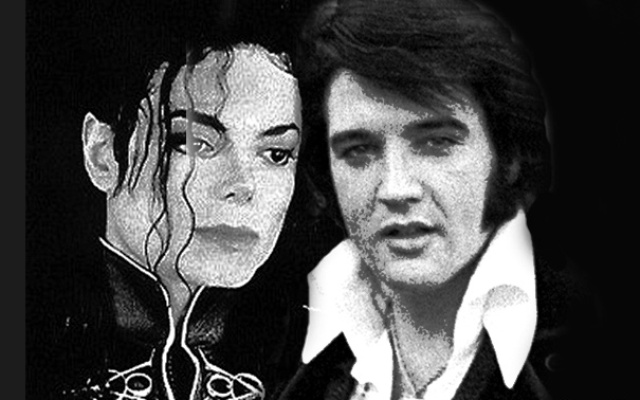 Michael Jackson and Elvis Presley