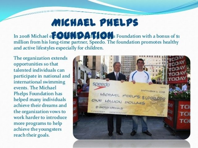 Michael Phelps Foundation