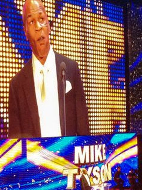 Mike Tyson WWE Hall of Fame