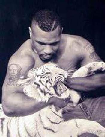 Mike Tyson's pet tiger
