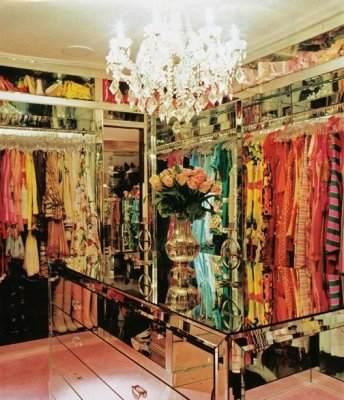 Paris hilton's closet