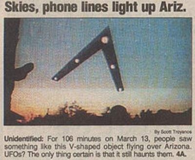 Phoenix Lights 1997 model