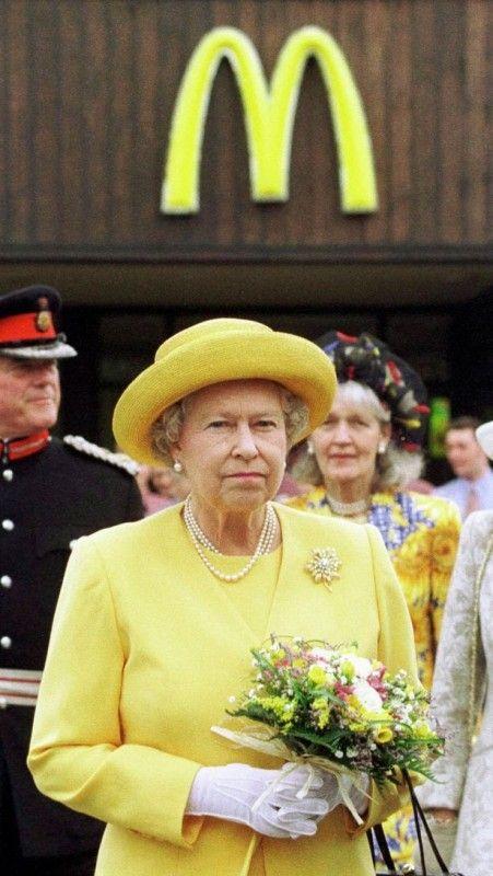 Queen Elizabeth And Mcdonalds