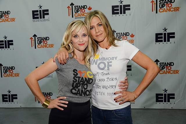 Witherspoon & Jennifer Aniston