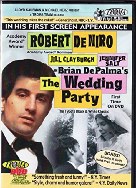 Robert De Niro The Wedding Party