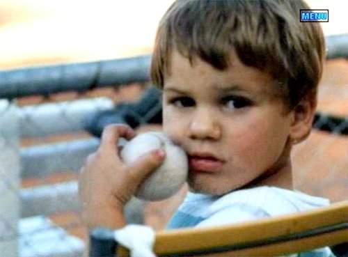 Roger Federer child