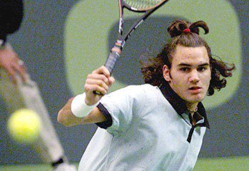Roger Federer young