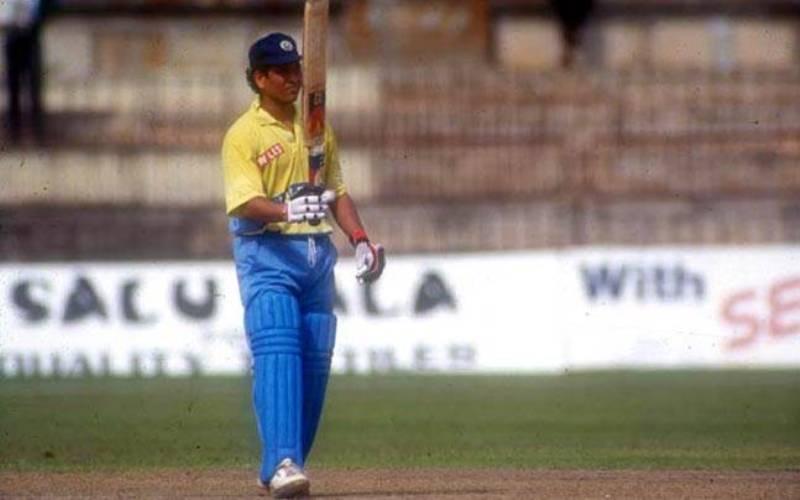 Sachin Tendulkar Maiden ODI Century
