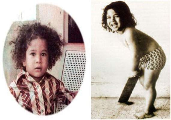 Sachin Tendulkar child