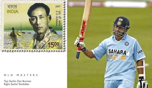 Sachin Tendulkar named after S D Burman