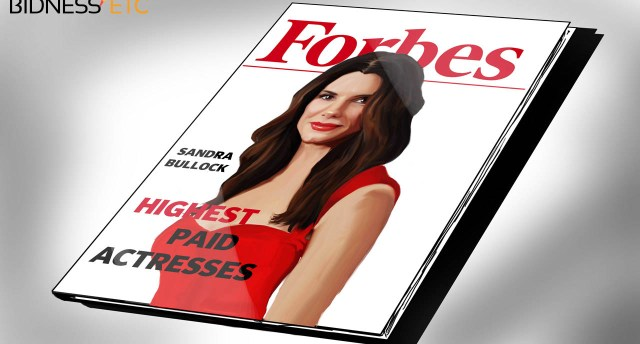 Sandra Bullock on Forbes