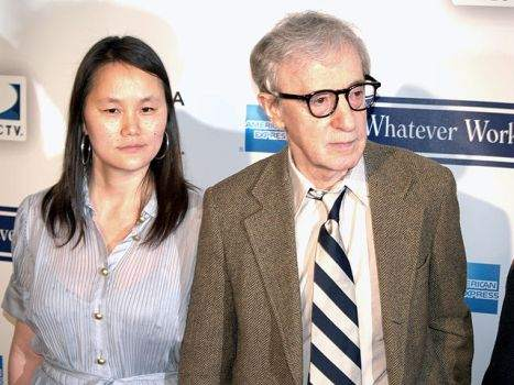 Soon Yi Previn and Woody Allen