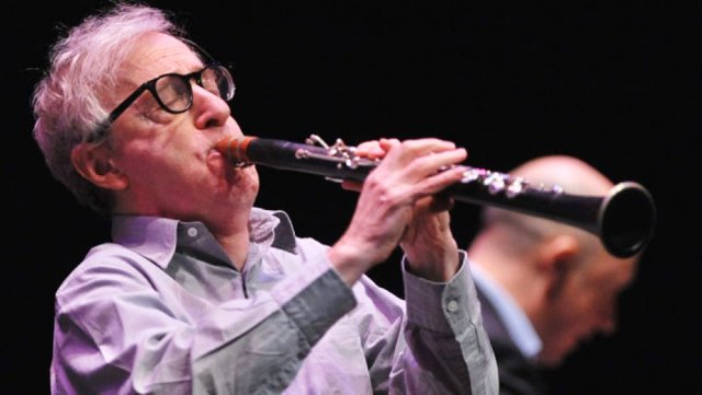 Woody Allen playing Jazz