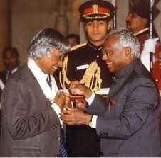 abdul kalam receiving bharat ratna