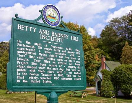 betty and barney hill incident site