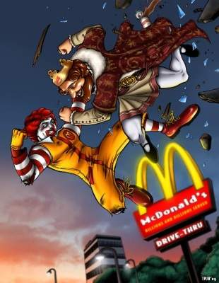 burger king vs mcdonald