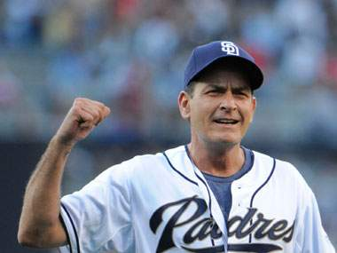 charlie sheen baseball